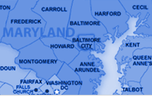 Maryland Oil Delivery Area