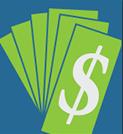 Receive money toward a new oil tank when needed.