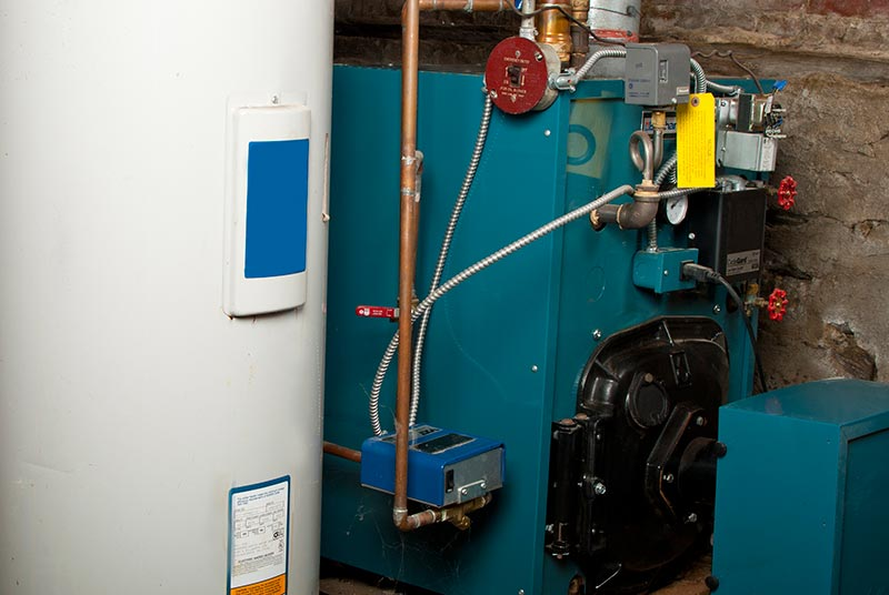 Furnace boiler installation